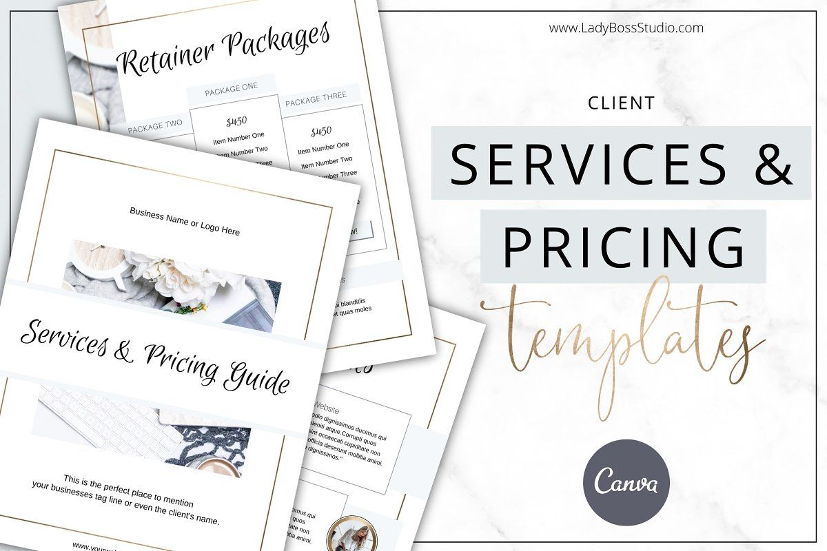 Services & Pricing Guide Canva Gold , #sponsored, #Magnet#