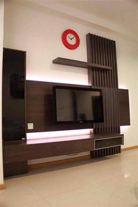 Tv Unit Designs In The Living Room: Muebles Para TV, Panel De Tv, Muebles