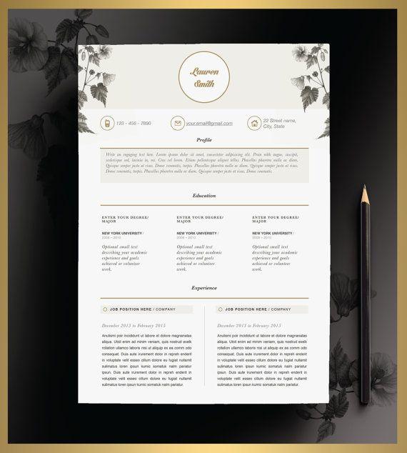 Creative Resume Template Editable in MS Word and by CvDesignCo - resume template editable
