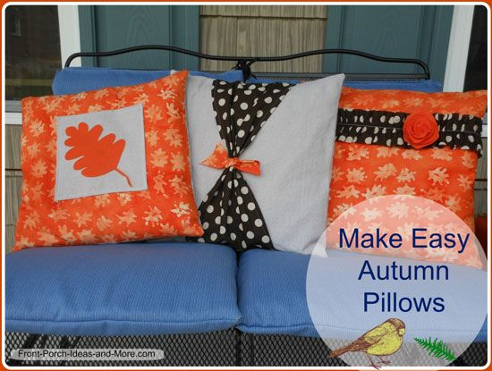 Pillow Cover Pattern For Autumn Autumn Decorating Ideas