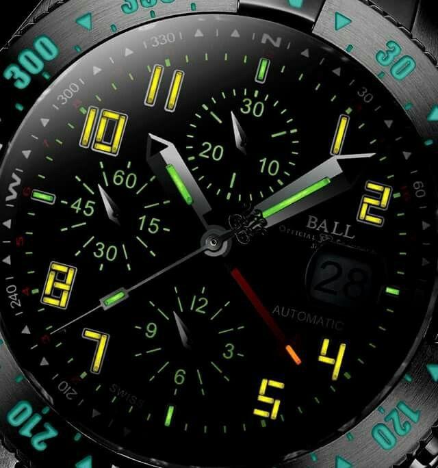 b242d2ff4e4b Ball Watch with luminous tubes for outstanding visibility!!  AbecedarioComprarRelojes De MarcaMarcasArmario ...