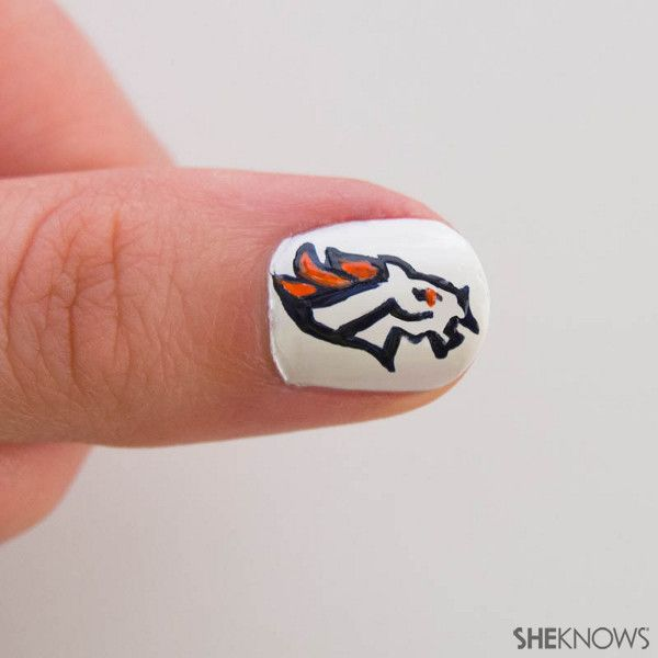 The nail design Dever Broncos fans will obsess over | Denver broncos ...