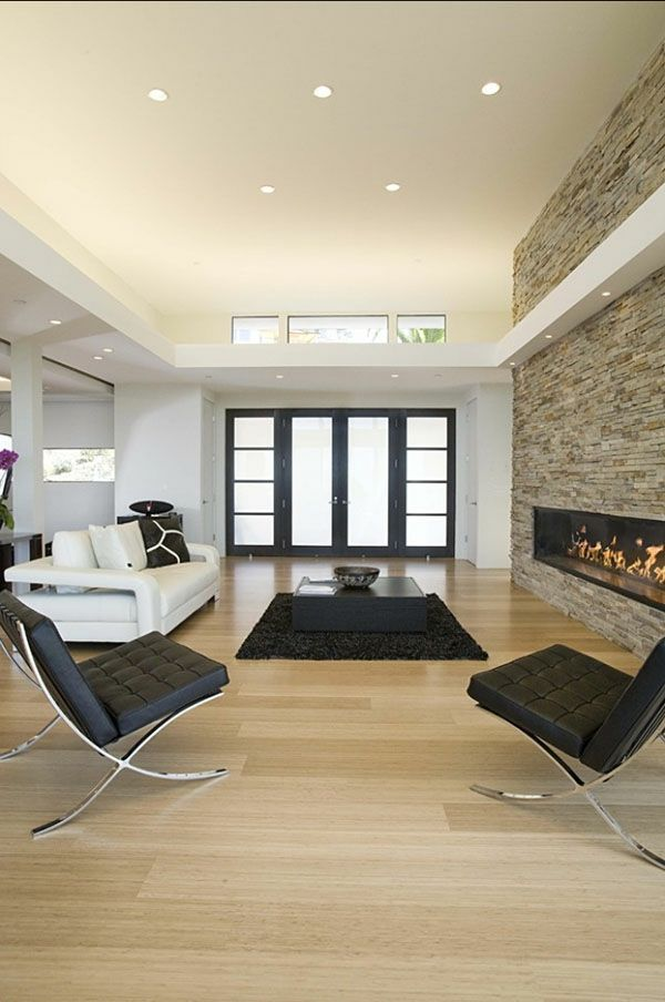 Wohnzimmer Mit Interessantem Design   Wie Ein Modernes Wohnzimmer Aussieht  U2013 135 Innovative Designer Ideen