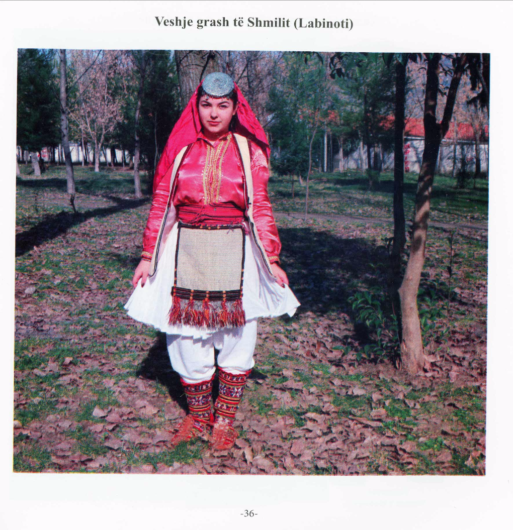 Albanian folk costumes from Elbasan era