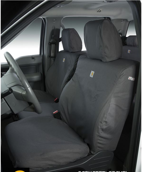 Carhartt Front Bucket Seat Covers Gravel Seat covers