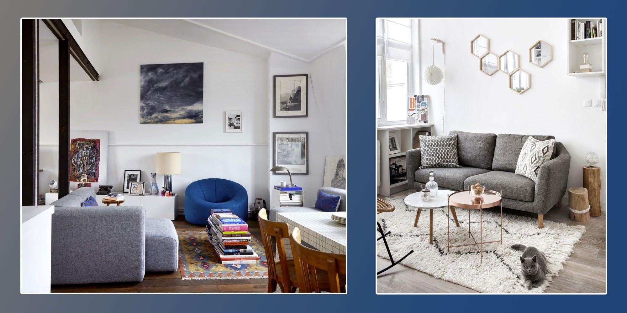 Des aménagements de petits salon qui ont tout bon  Aménagement