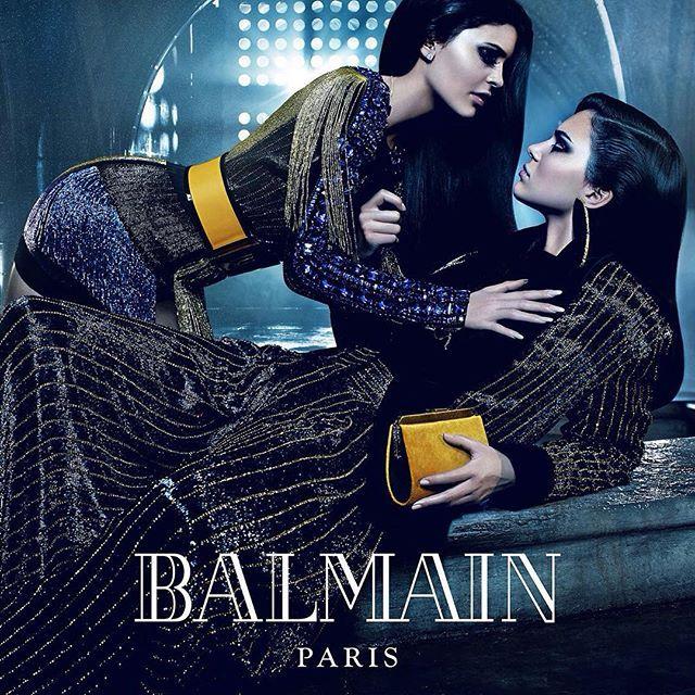 Balmain Siblings/Kylie and Kendall Jenner