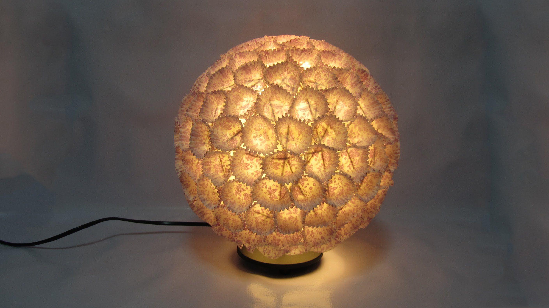 Como hacer una l mpara de dise o design lamp useful - Lamparas que den mucha luz ...