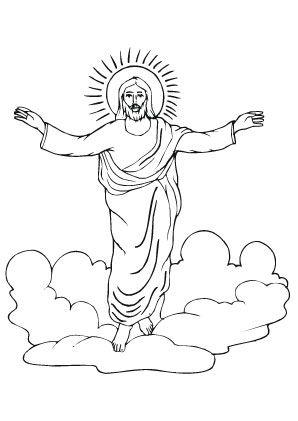 ausmalbild auferstehung jesu 1098 malvorlage alle