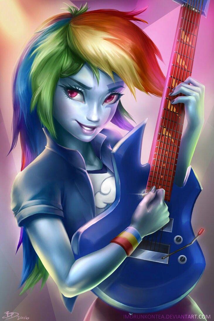 Rainbow dash my little pony anime dessin et dessin - My little pony en dessin anime ...