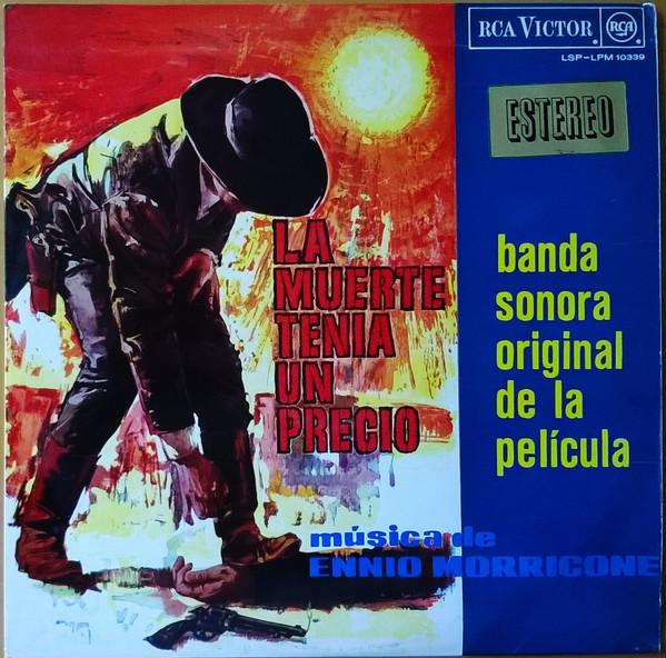 Ennio Morricone La Muerte Tenia Un Precio Banda Sonora Original De La Película 1966 Vinyl Discogs Comic Book Cover Comic Books Book Cover