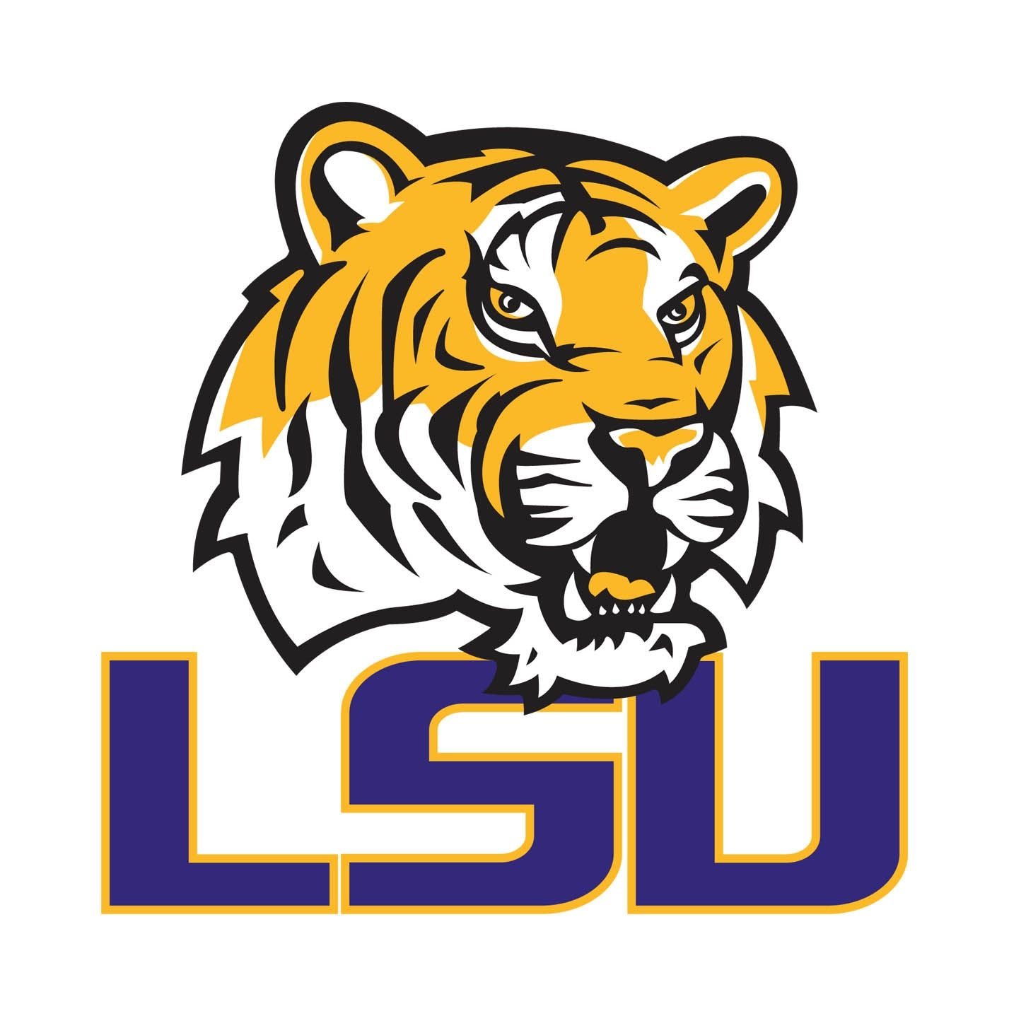 Image result for LSU college football logo