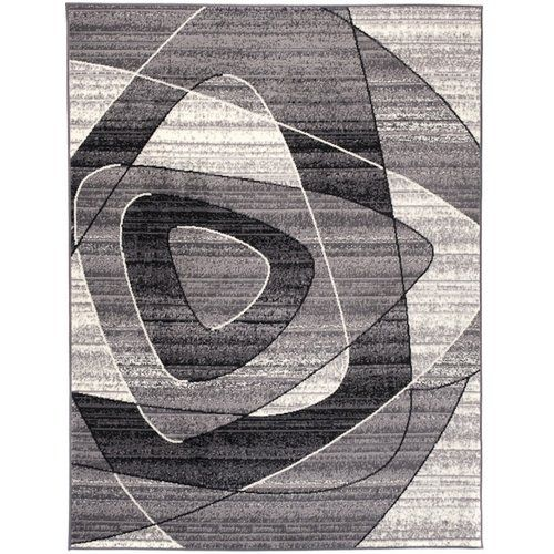 Teppich Taurean in Dunkelgrau