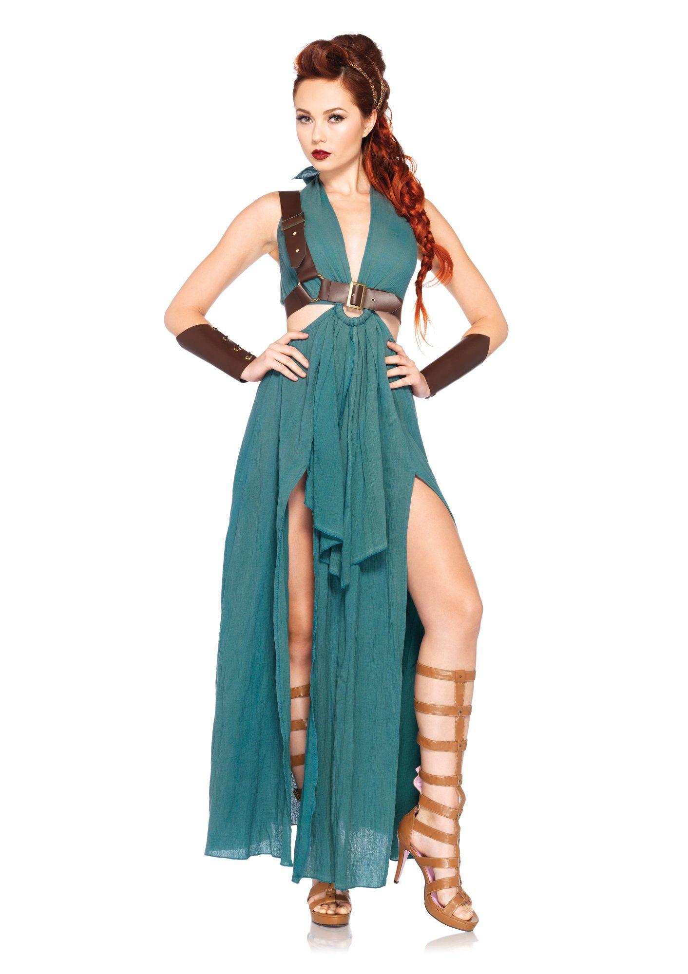Leg Avenue Women's 4 Piece Warrior Maiden