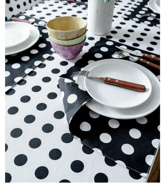 Navy Coffee Table Runner