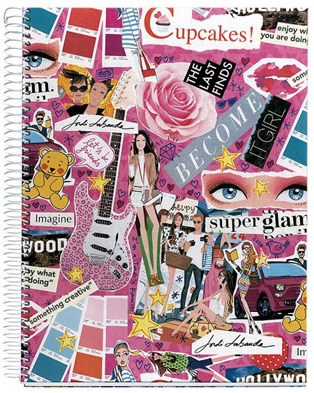 #purplefrog #gift #colorful #pink #fashion #rose #heart #cupcakes #colors #notebook   Collage ...