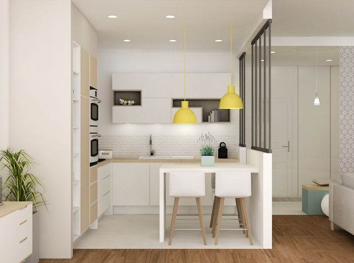 162 Gorgeous Kitchen Design Ideas for Small House Smallest house