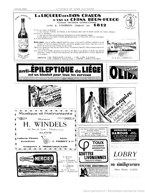 L'Afrique du Nord illustrée : journal hebdomadaire d'actualités nord-africaines : Algérie, Tunisie, Maroc   1931-04-04   Gallica