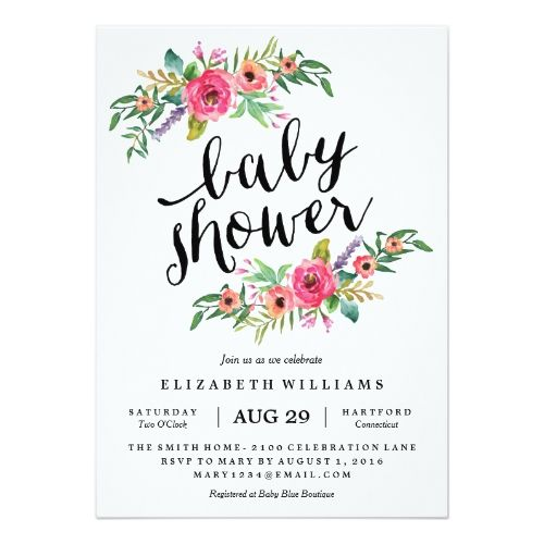 sweetest summer baby shower invitation | summer | pinterest, Baby shower invitations