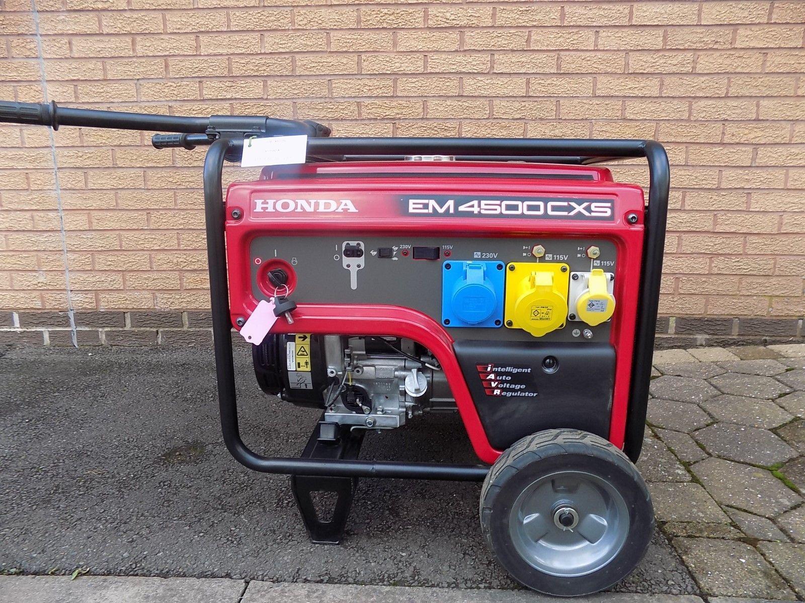 D Honda EM4500CXS Generator