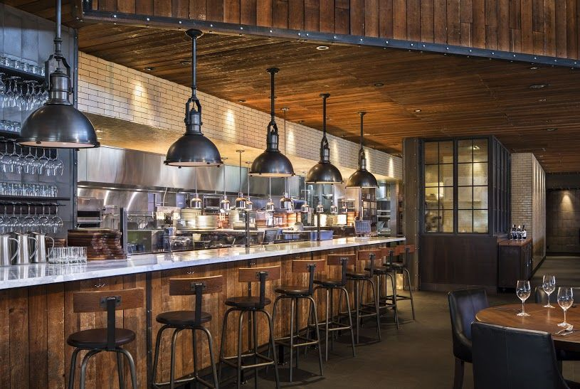 Earls Edmonton Tin Palace Bar Seating With View Into The