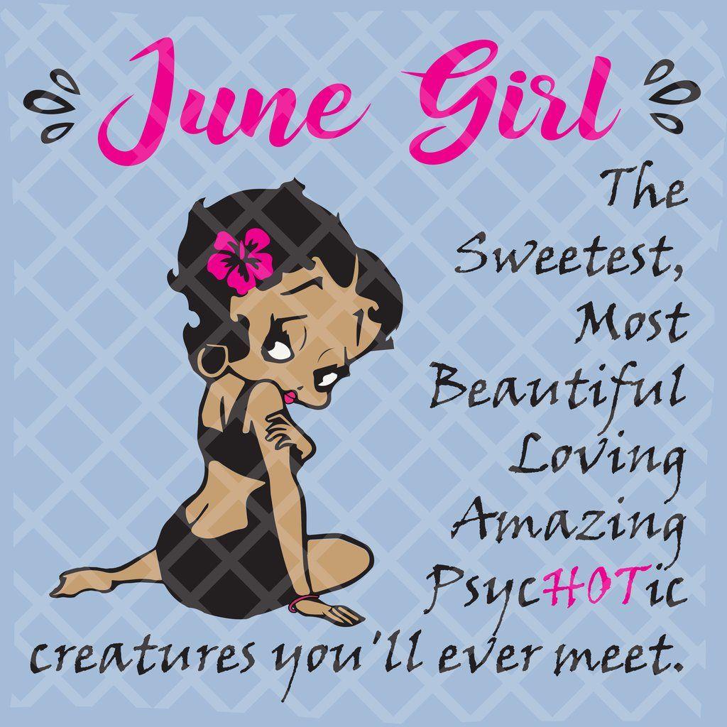 June Girl Svg, Girl Born In June Svg, Queens Born In June