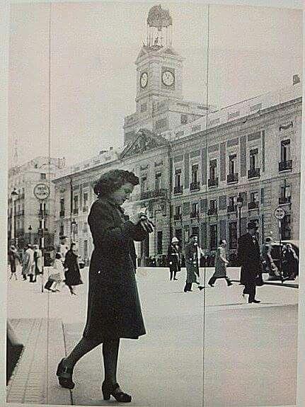Puerta del Sol, 1944.