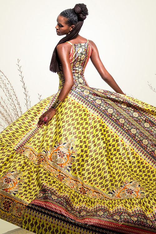 Ball Gown African African Fashion Fashion African