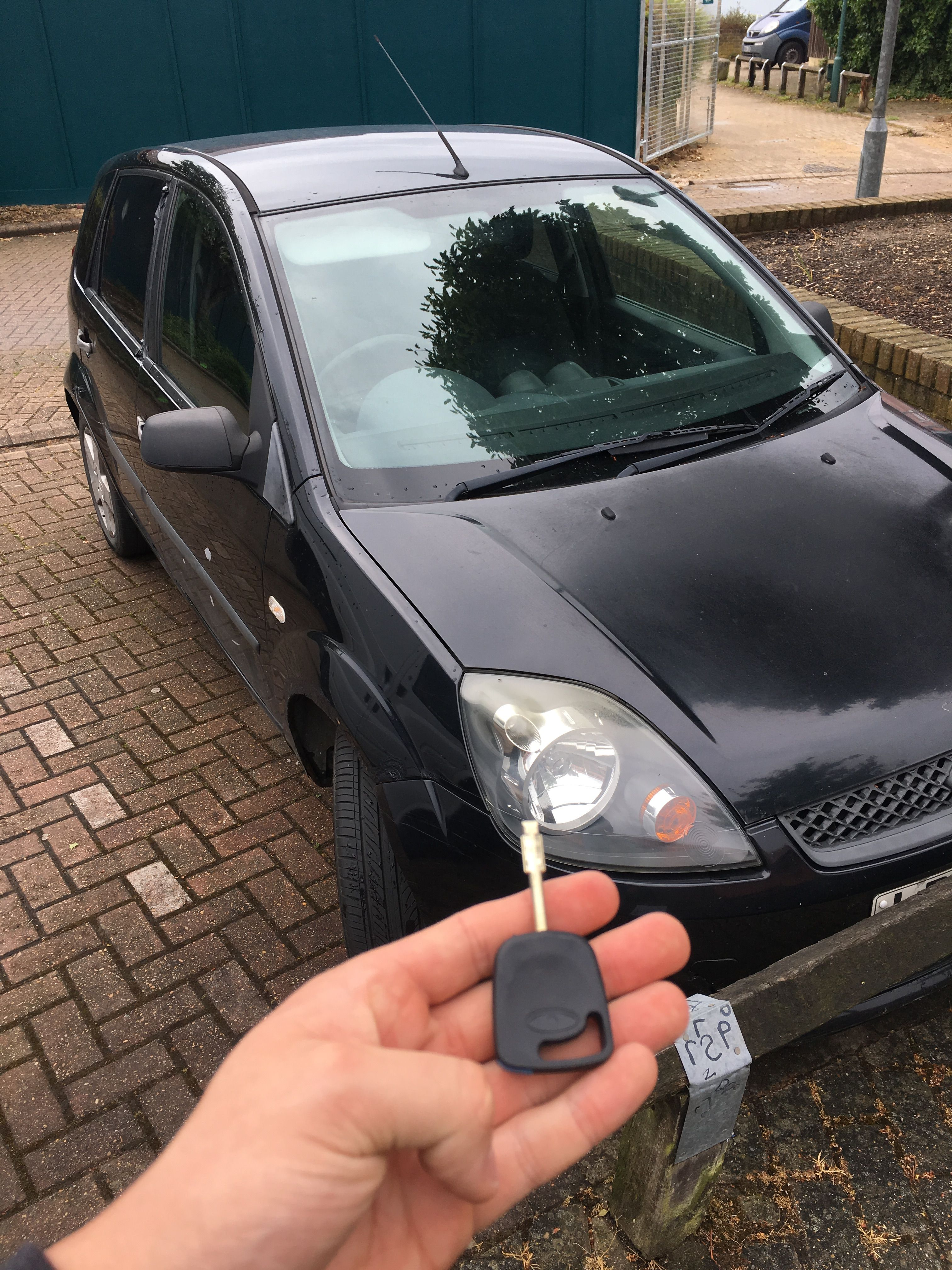This Morning We Done A Broken Key Replacement On This Ford Fiesta