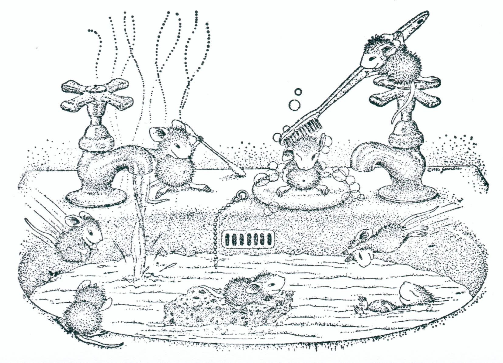 Pin von dafna doron auf Coloring Pages | Pinterest | Mäuse ...