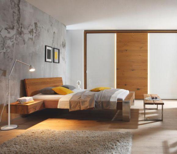 Bett In Holz Natur Eichefarben Betten Schlafen Xxxlutz