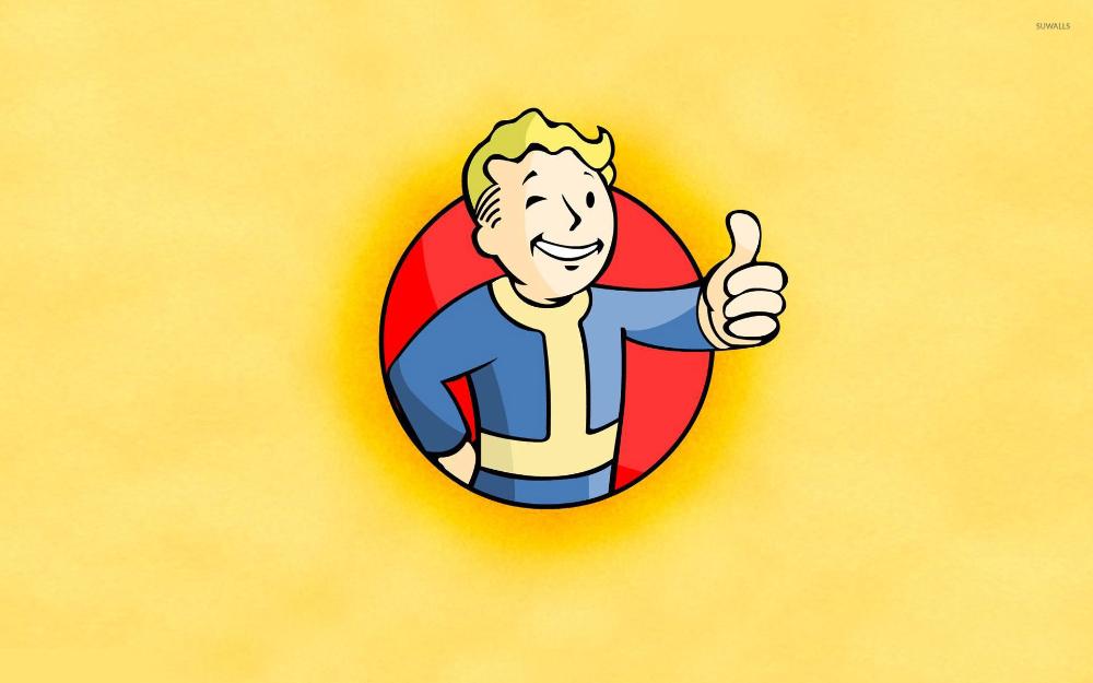 Fallout Vault Boy Google Search Pip Boy Vault Boy Fallout Boys Wallpaper