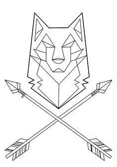 Geometric Tattoo – wolf tattoo geometric – Buscar con Google…
