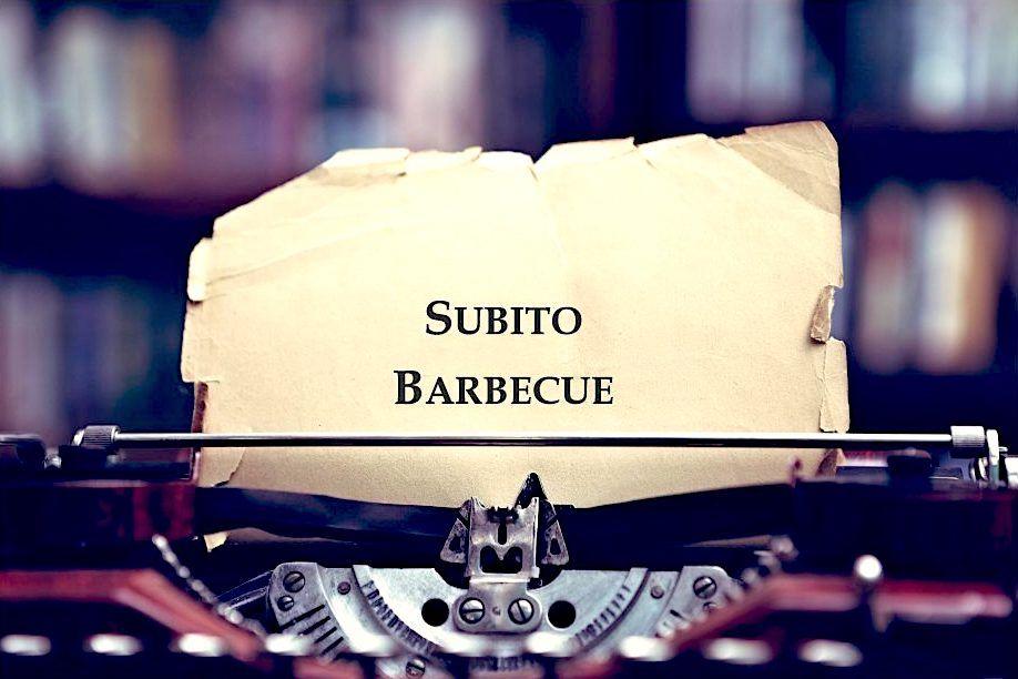 Subito Barbecue in Pubblicazione