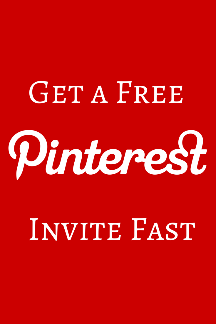 Get a Free Pinterest Invite Fast