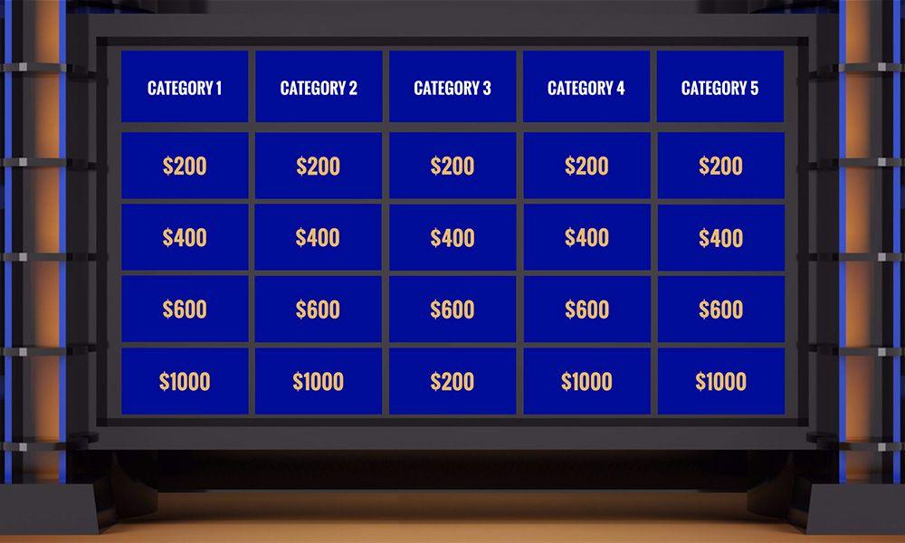 jeopardy guiz tv game show prezi next presentation template