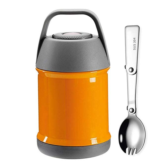 ausigubxe 18oz portable thermos food jar double wall on walls hunting clothing insulated id=37867