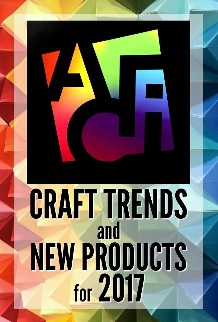 Craft Trend And New Products For 2017 Mixed Media Techniques