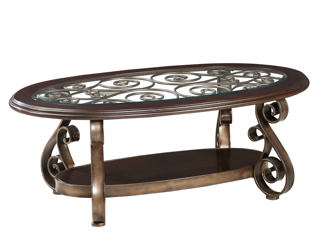 Bombay Occasional Collection Iron Coffee Table Coffee