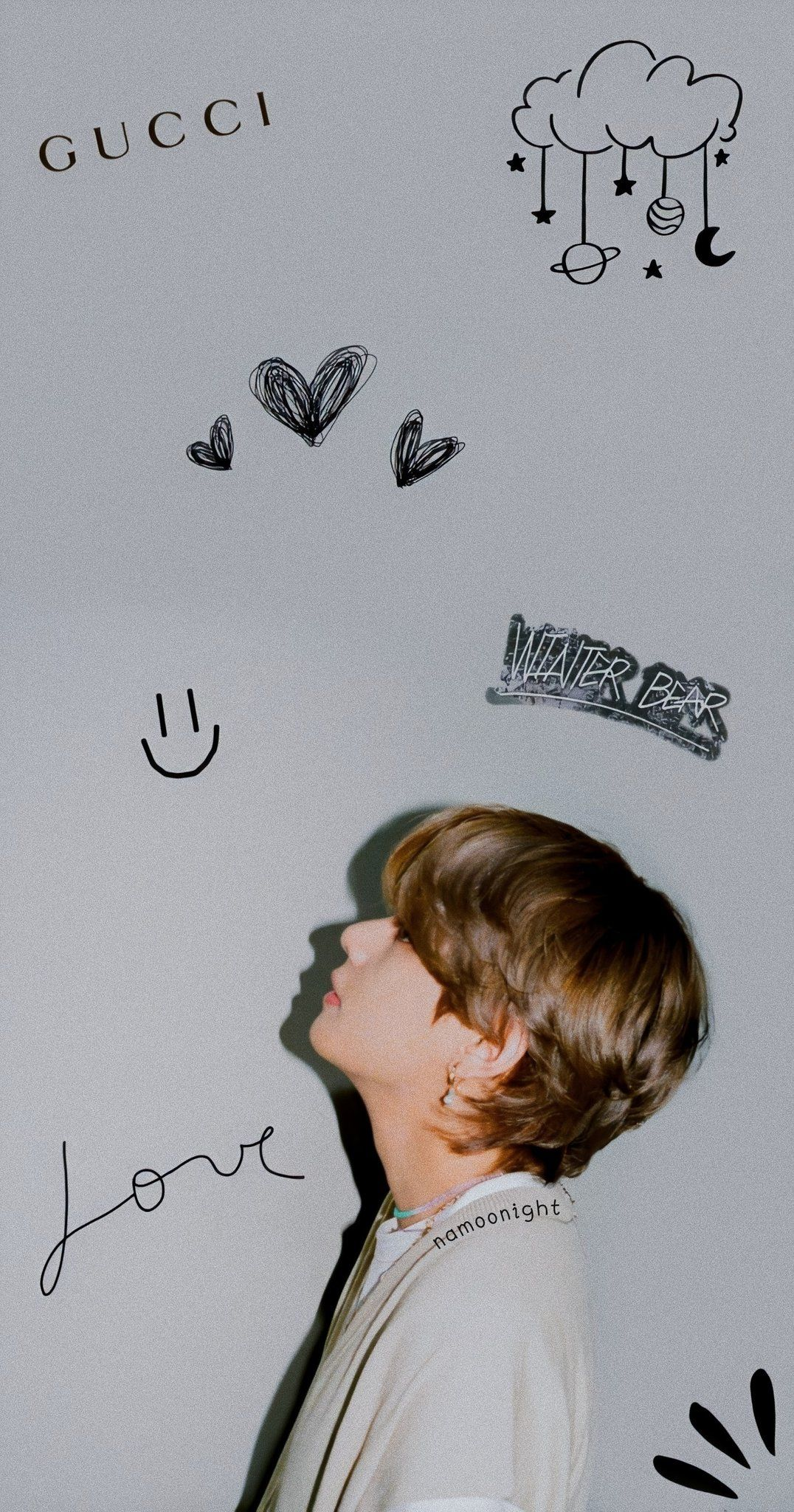 Eci On Twitter Tato Kecil Lucu Wallpaper Lucu Gambar Lucu Bts taehyung aesthetic wallpaper