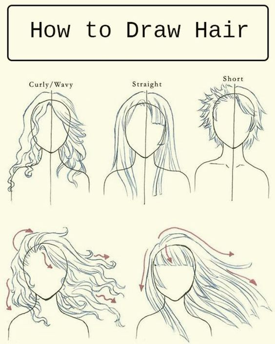 40 Easy Step By Step Art Drawings To Practice Bored Art How To Draw Hair Art Tutorials Drawings
