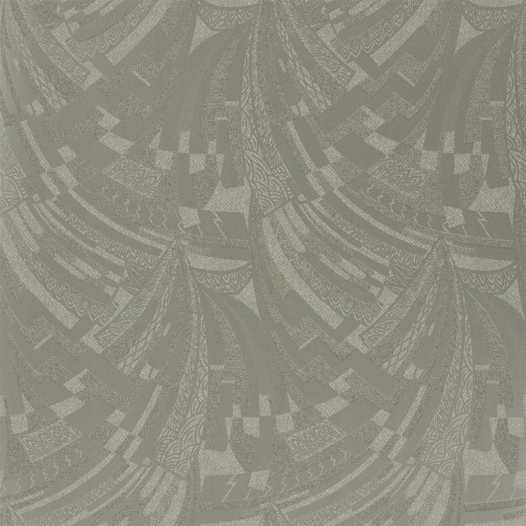 Josephine Deco Mercury Glass Wallpaper Ralph Lauren Deco Art Deco Pattern Pearl Wallpaper