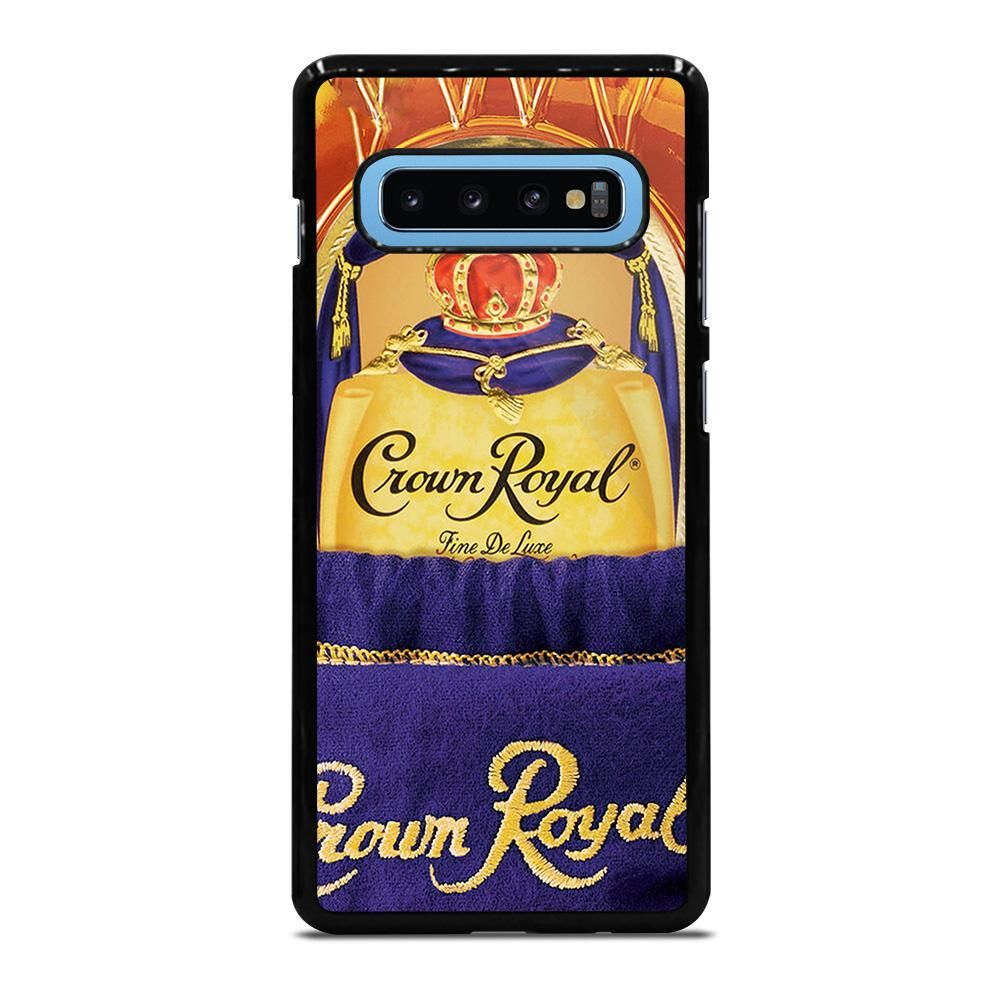 CANADIAN WHISKY CROWN ROYAL Samsung Galaxy S10 Case Cover