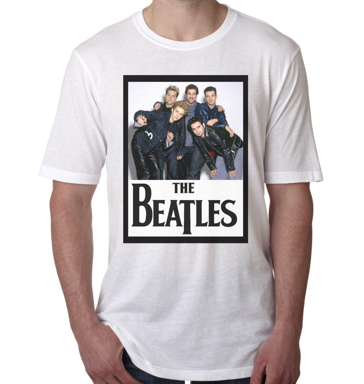 a9775bcfd Funny T-shirt   Band shirt   The Beatles NSync Wrong Band Shirt   Funny