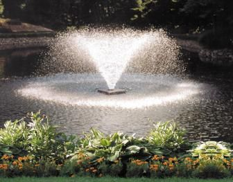 Floating Fountains Are Cool If You Ve Got A Pond And You Don T Have A Fountain Out There You Re Missing Out Outdoor Fountain Pond Aerator Waterfall Fountain