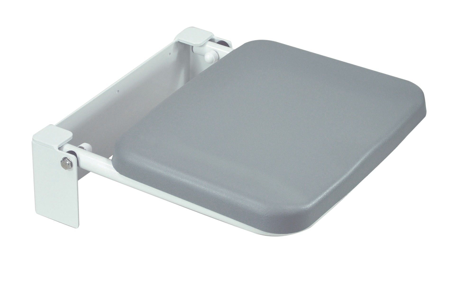 Solo Compact Padded Wall Mounted Shower Seat Overall depth 38mm ...