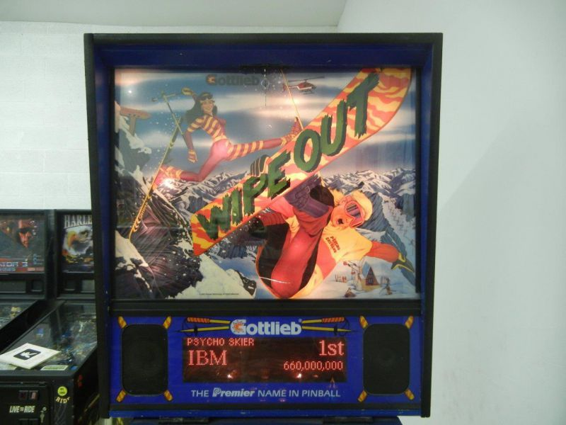 Wipe Out by Gottlieb (1993)