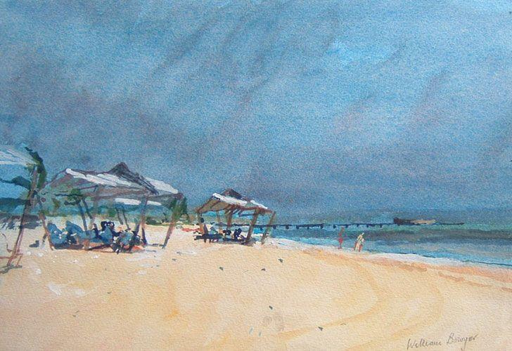 The Beach Near Havana - William Bowyer