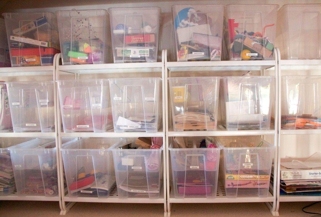 Bastelzimmer organisieren | Pinterest | Bastelzimmer organisieren ...