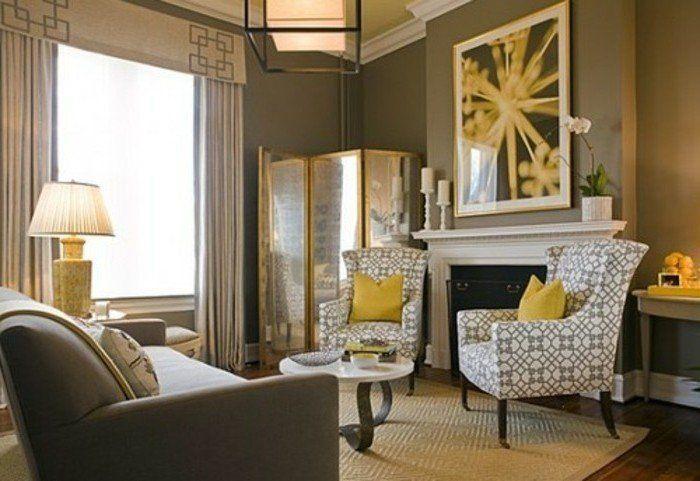 Déco salon gris - 88 super idées pleines de charme Decoration